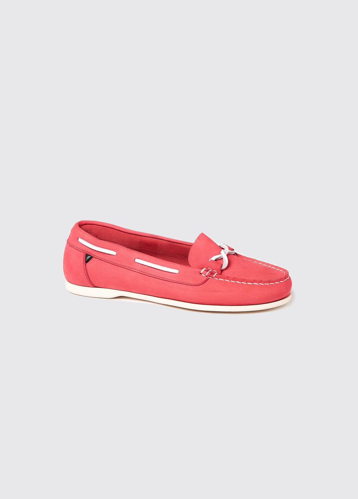 Rhodes Deck Shoe - Coral