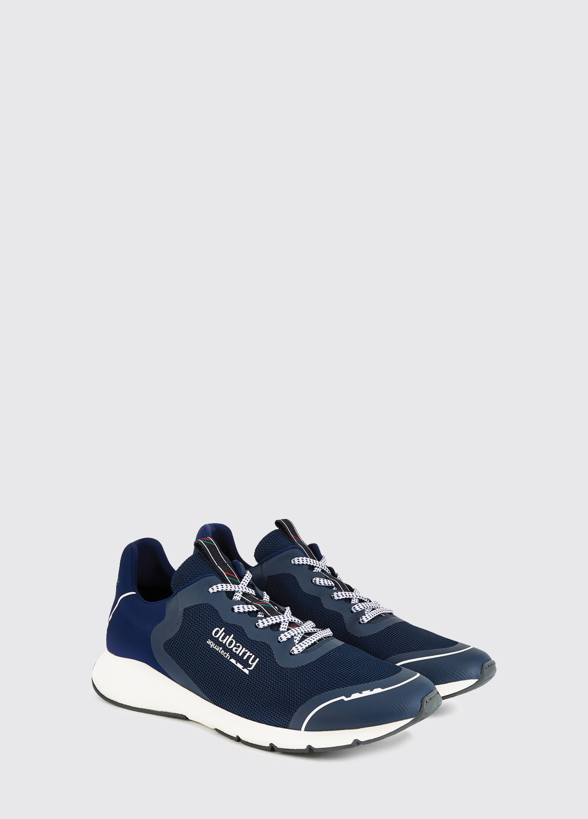 Palma Lightweight Laced Trainer - Navy