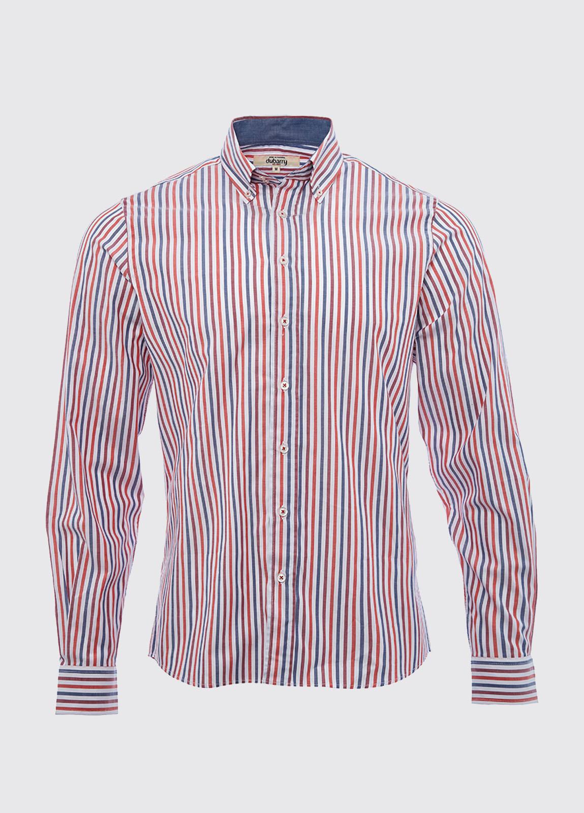 Kinvara striped shirt - Saffron Multi