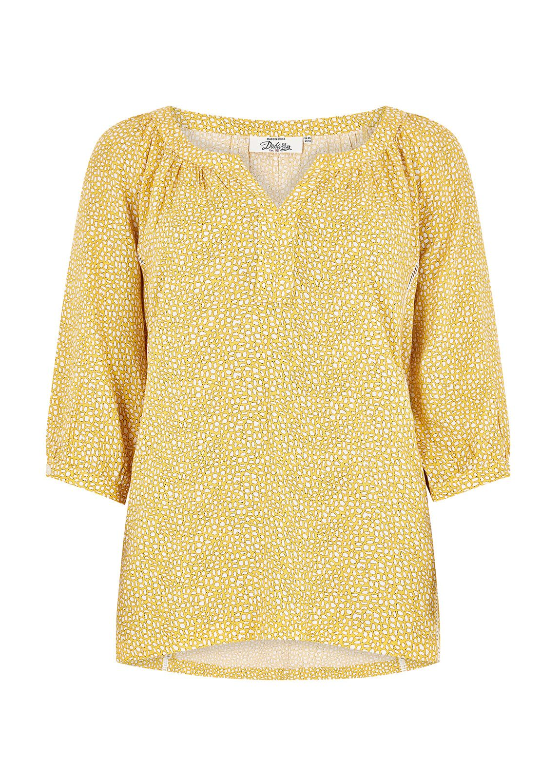 Dubarry_Dahlia Shirt - Sunflower_Image_2