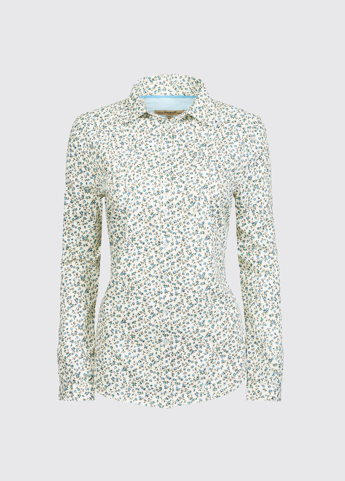 Brooklime Ladies Shirt - Teal Multi