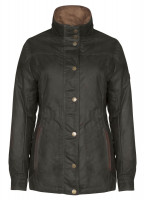 Mountrath Waxed Jacket - Olive