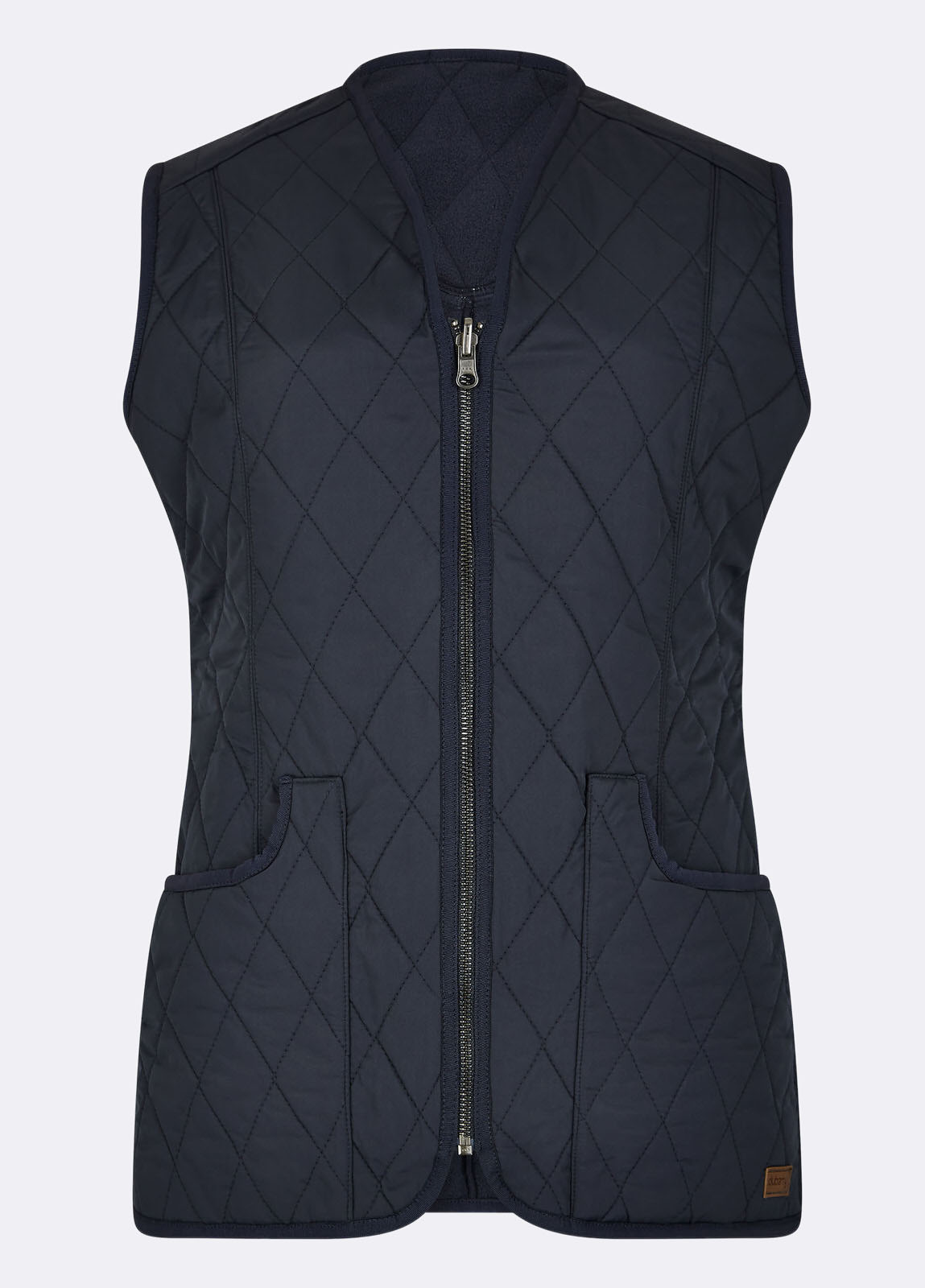 Kilruddery Quiled Gilet - Navy