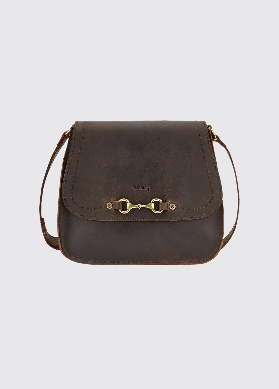 Ballycroy Saddle Bag - Mahogany