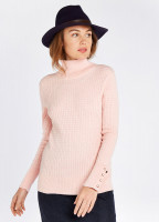 Brennan Knitted Sweater - Blush