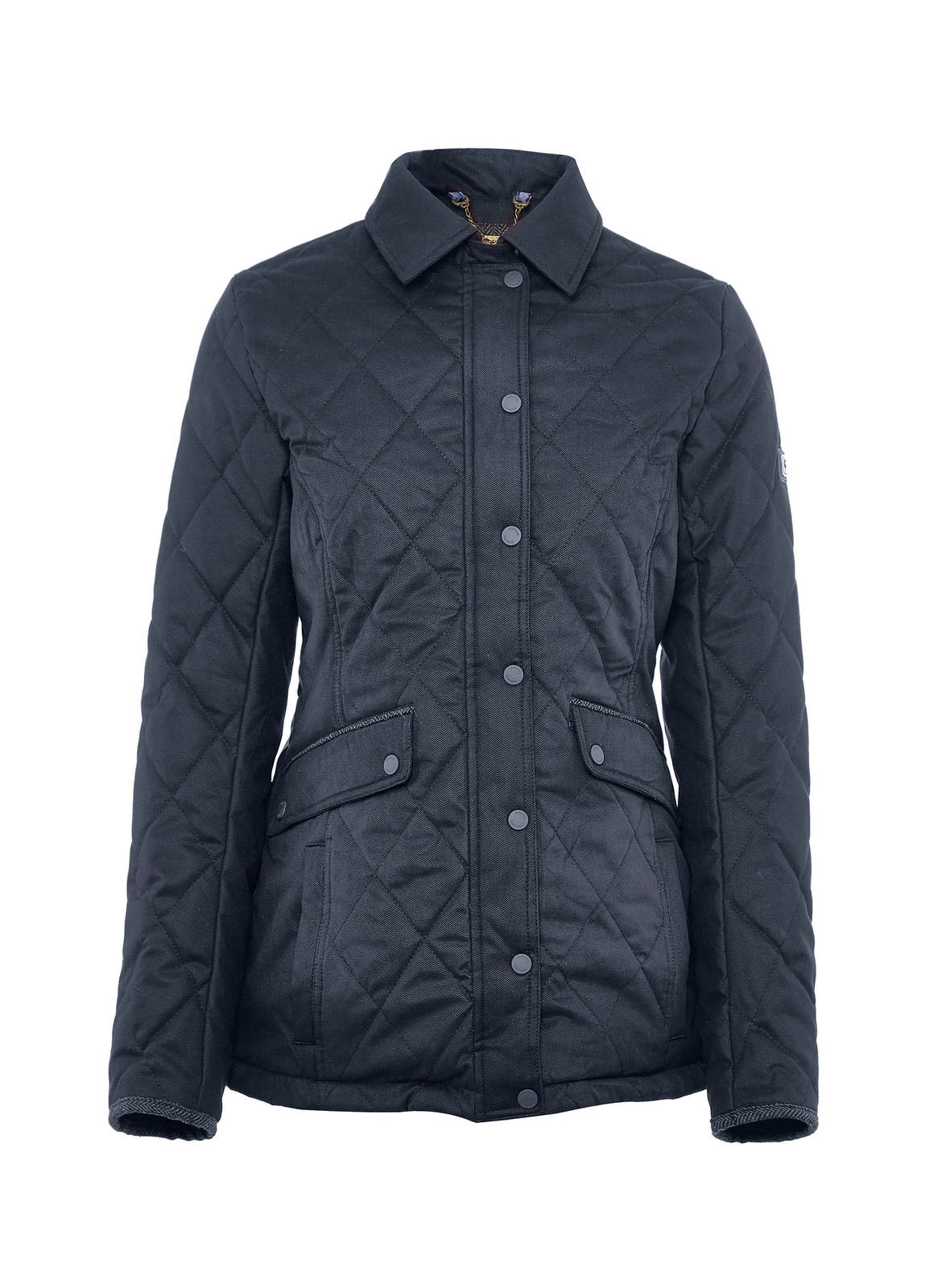 Heaney_Quilted_Coat_Navy_Image_1