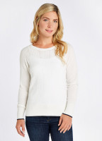 Clifton Sweater - White