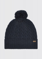 Schull Knitted Hat - Navy