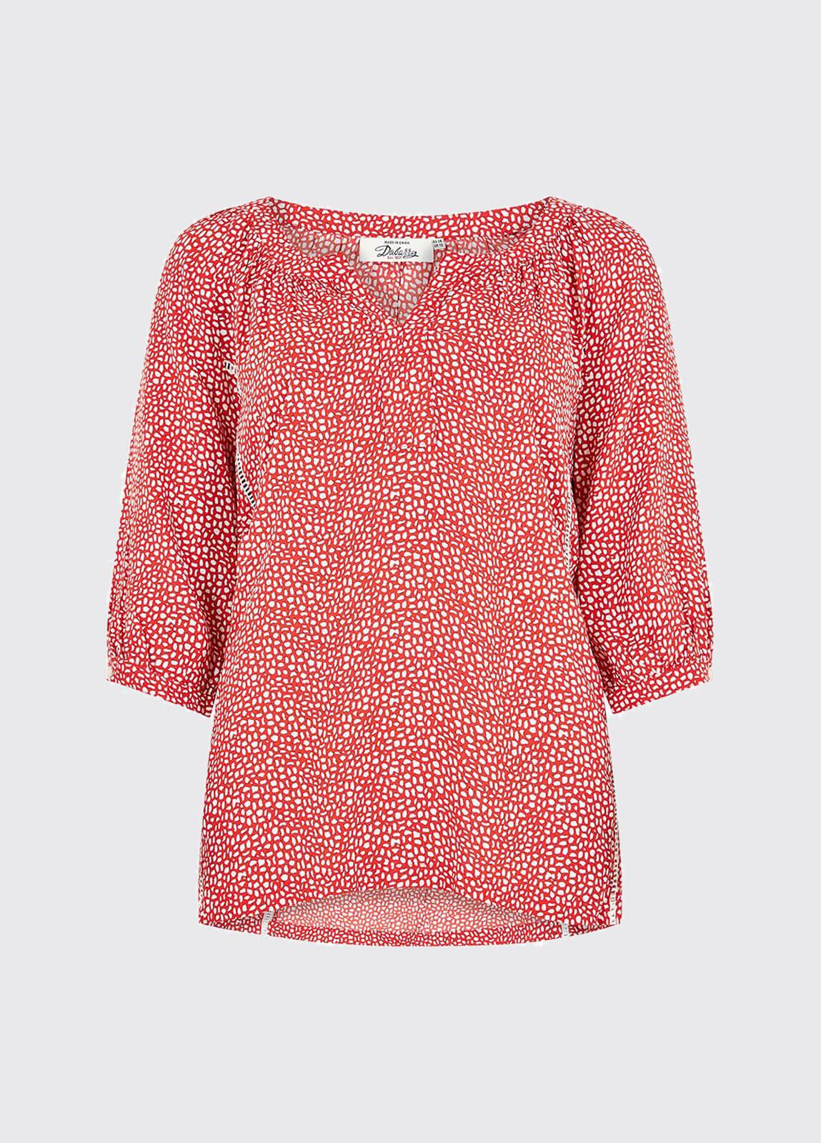 Dahlia Shirt - Poppy