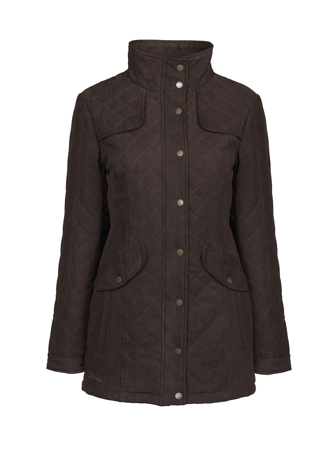 Dubarry_Kanturk Womens Quilted Coat - Chestnut_Image_2