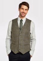 Ballyshannon Tweed Waistcoat - Woodbine