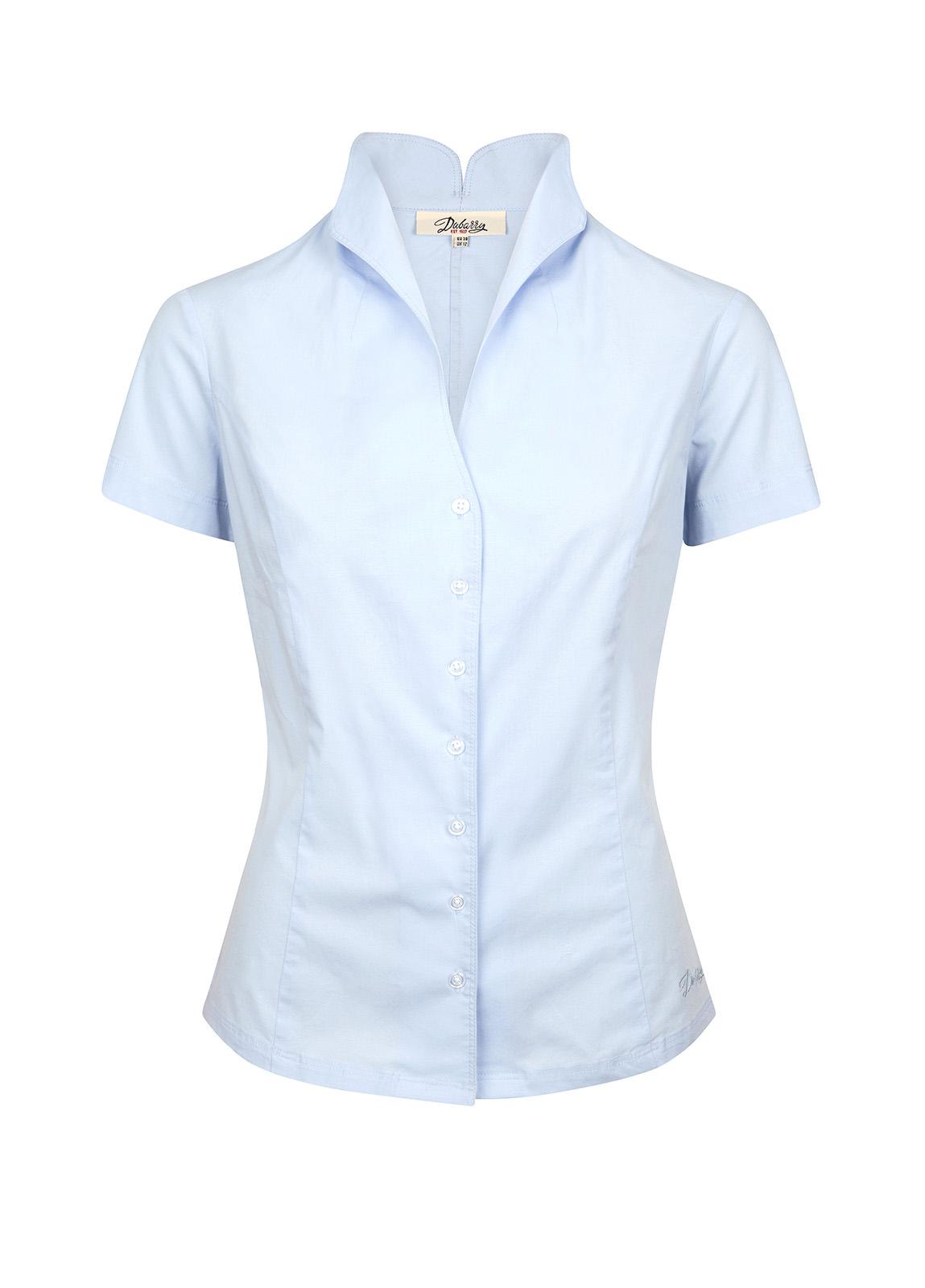 Dubarry_ Starflower Short Sleeve Women's Shirt - Pale Blue_Image_2