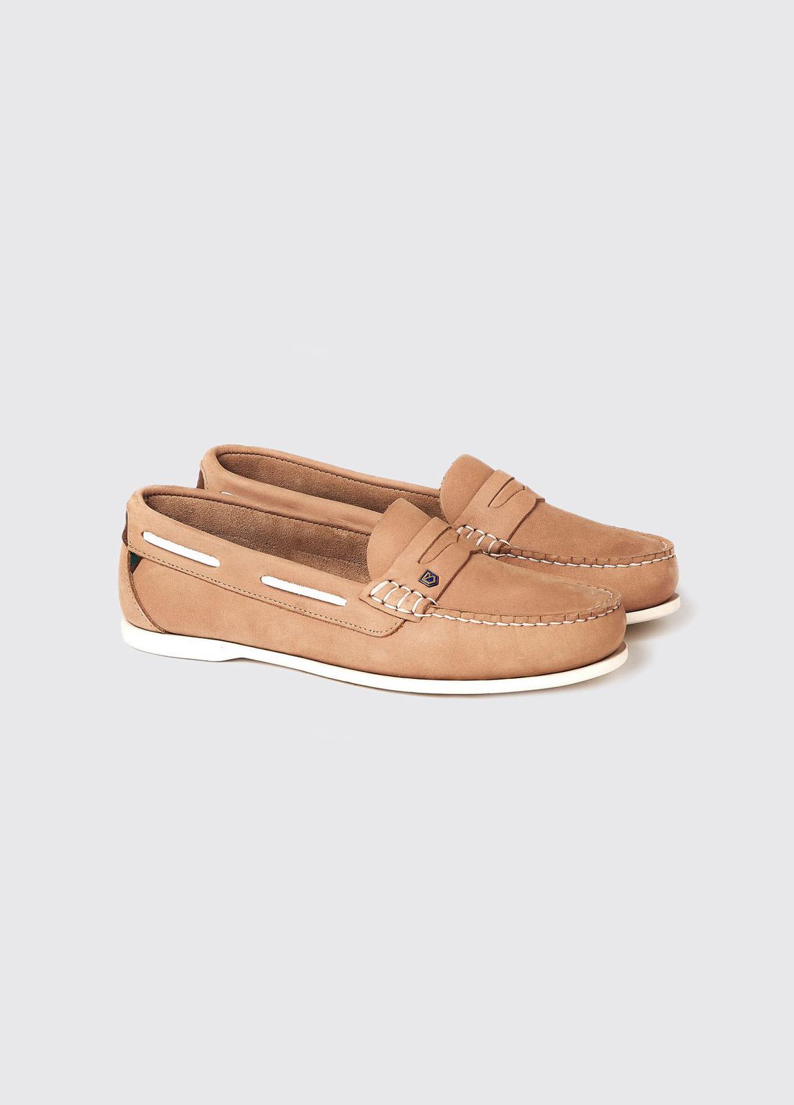 Belize Deck Shoe - Beige