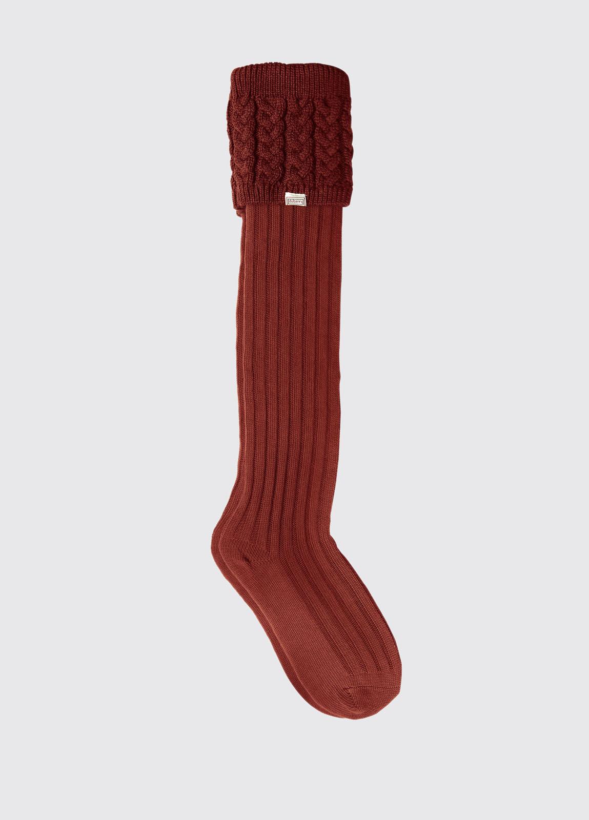 Trinity Socks - Merlot