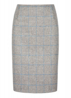 Fern Tweed Skirt - Shale