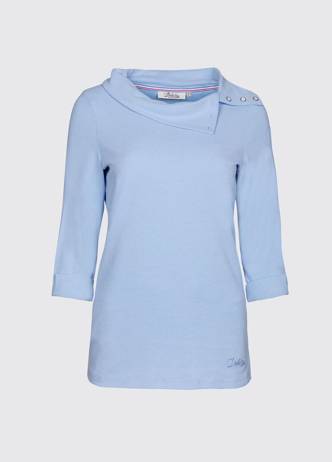 Malbay Three-quarter sleeve top - Pale Blue