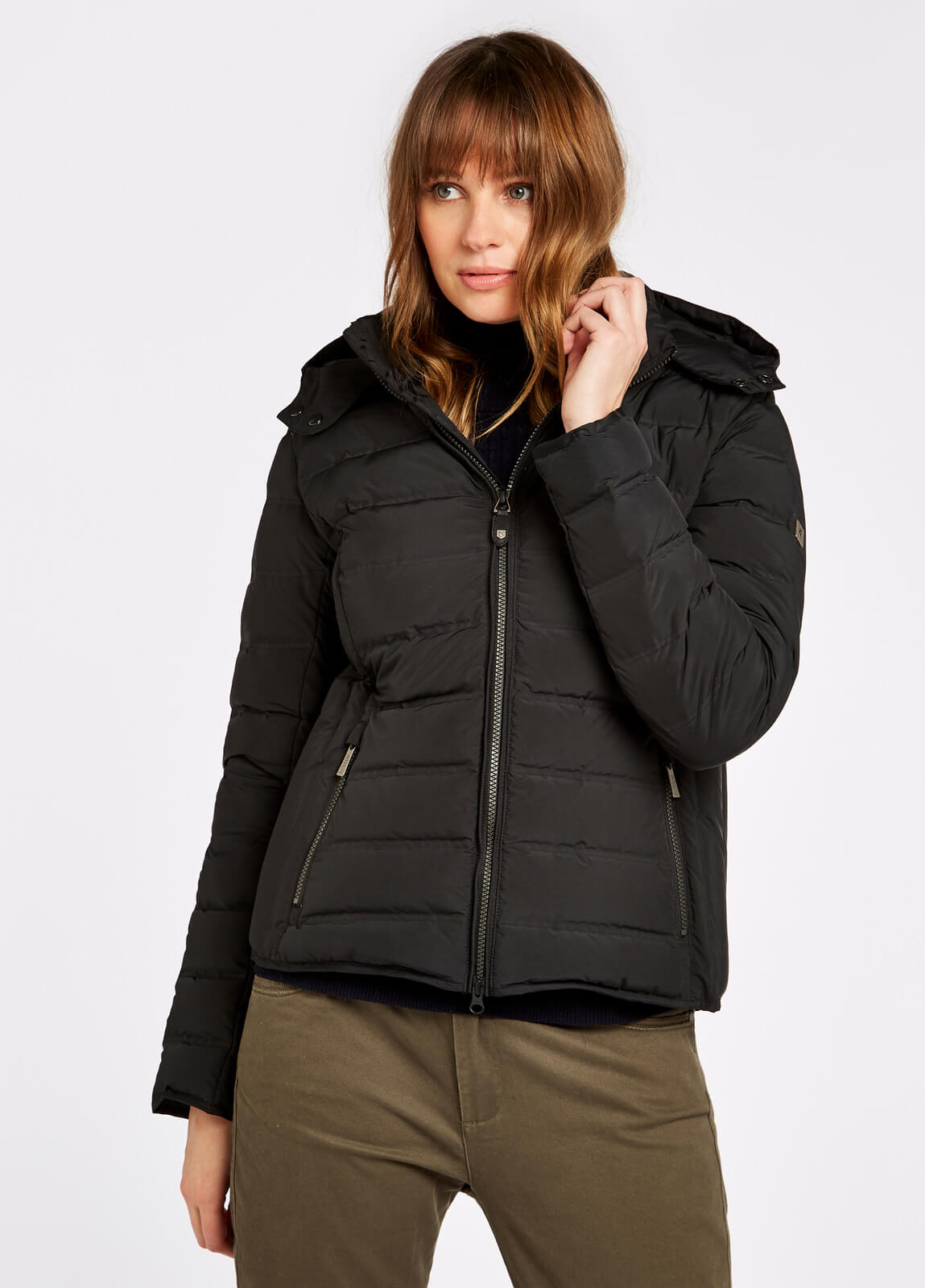 Dubarry_Kilkelly_Quilted_Coat_Black_on_model