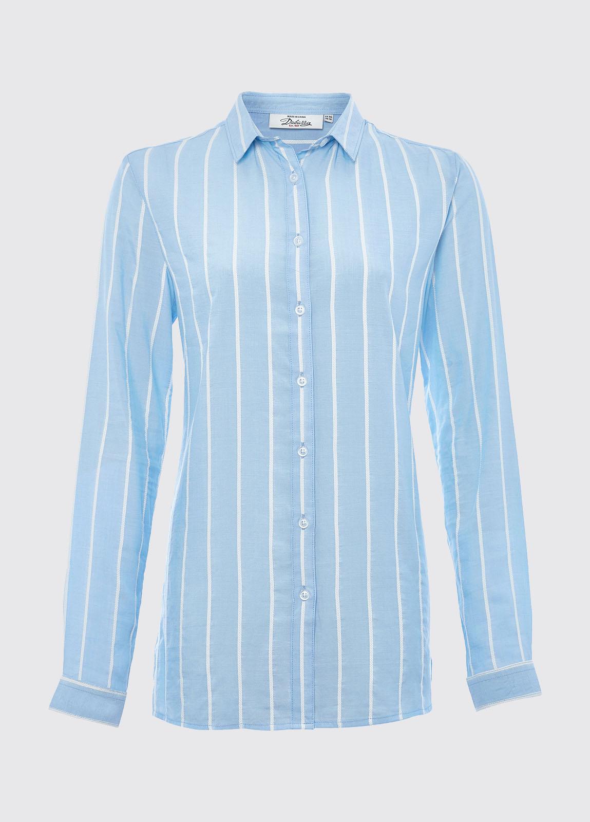 Camellia shirt - Blue