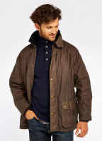 Mountbellew Wax Jacket - Ginger