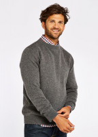 Nolan Knitted Sweater - Grey