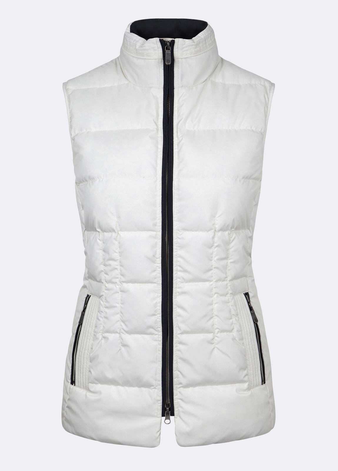 Dubarry_Spiddal_Quilted_Gilet_White_off_model