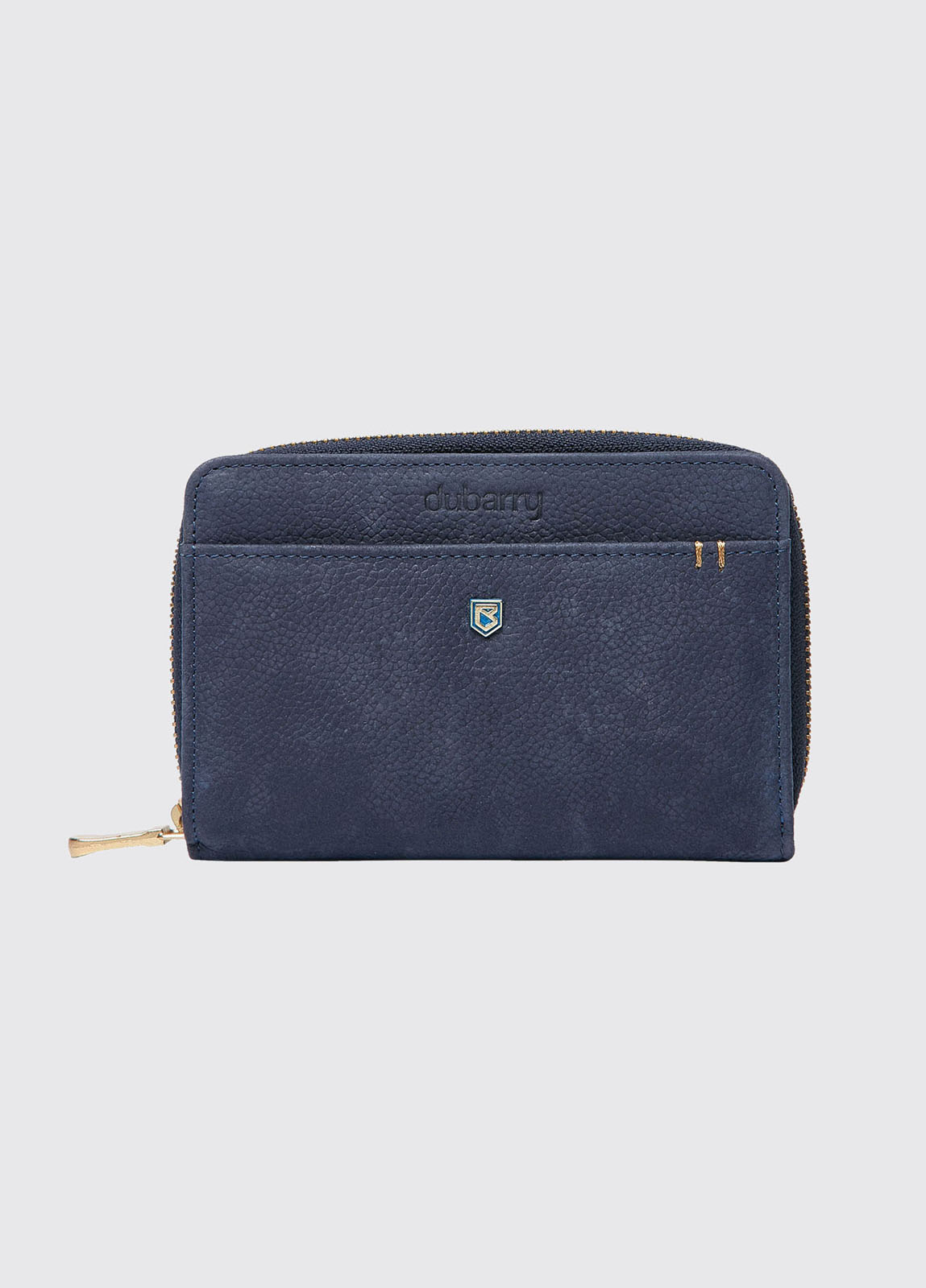 Portrush Leather Wallet - Navy