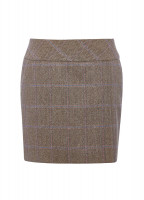 Bellflower Tweed Skirt - Woodrose