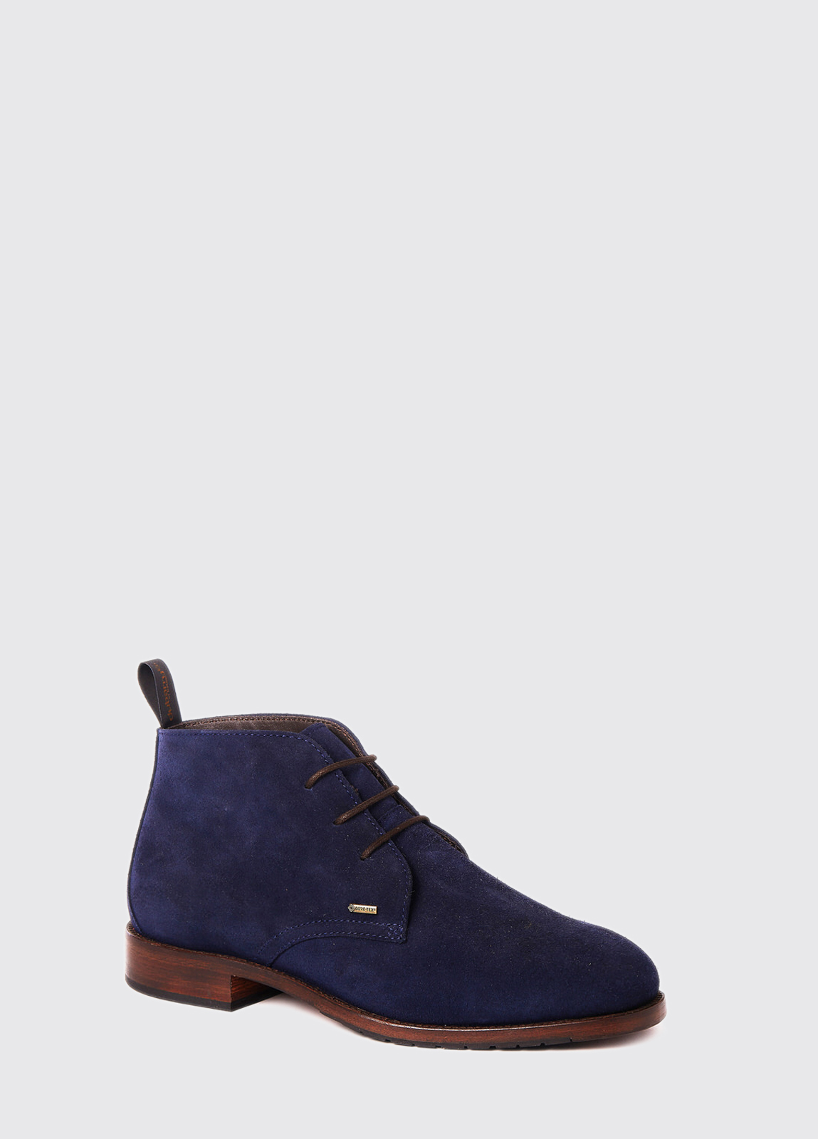 Waterville Mid Top Leather Boot - French Navy