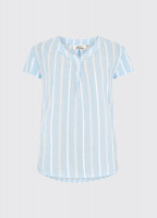 Gardenia Shirt - Pale Blue