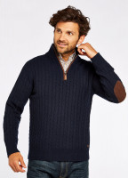 Thompson Knitted Sweater - Navy
