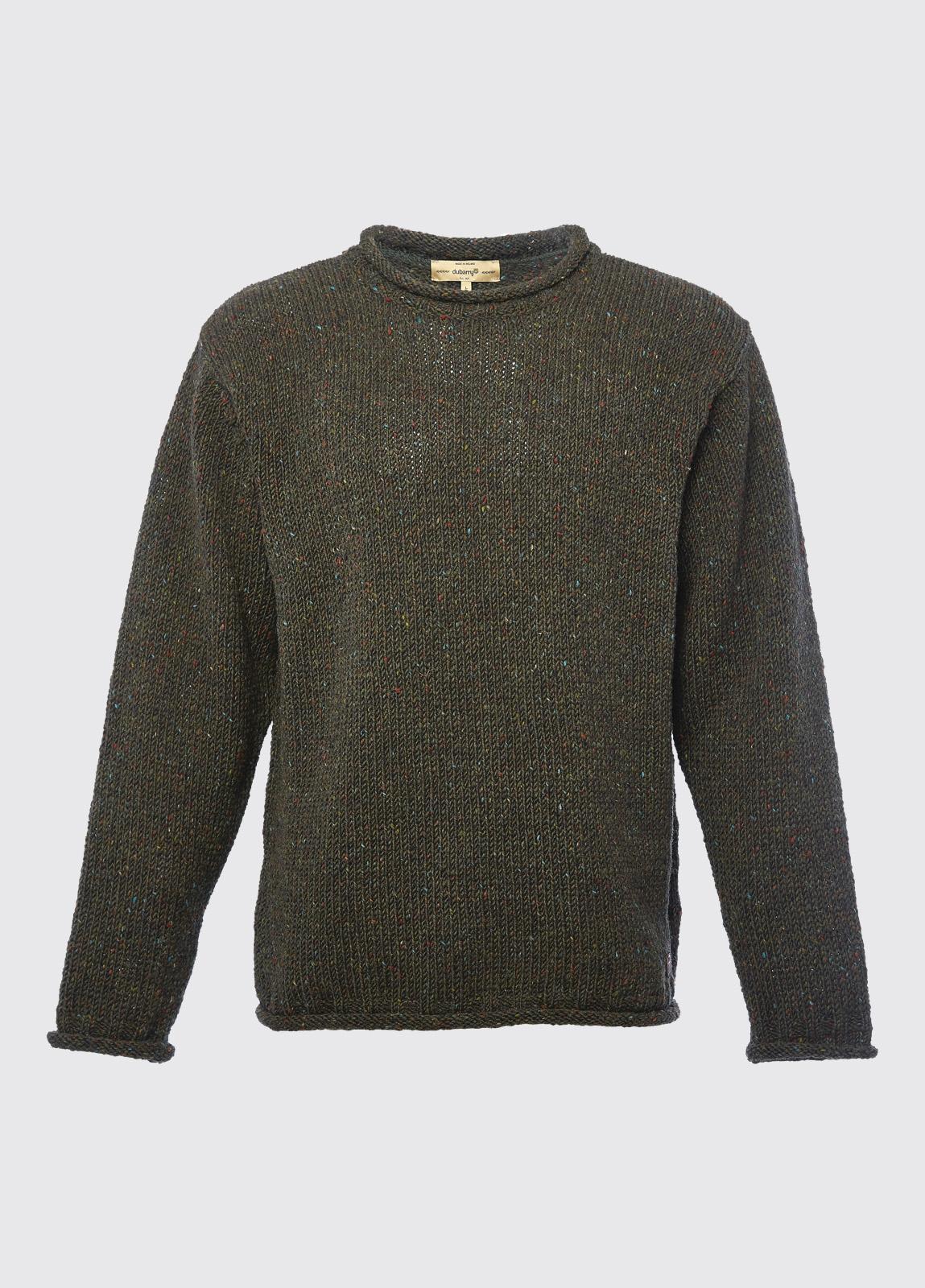 Marshall Crew Neck Sweater - Olive