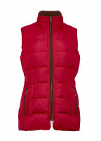 Spiddal Quilted Gilet - Cardinal