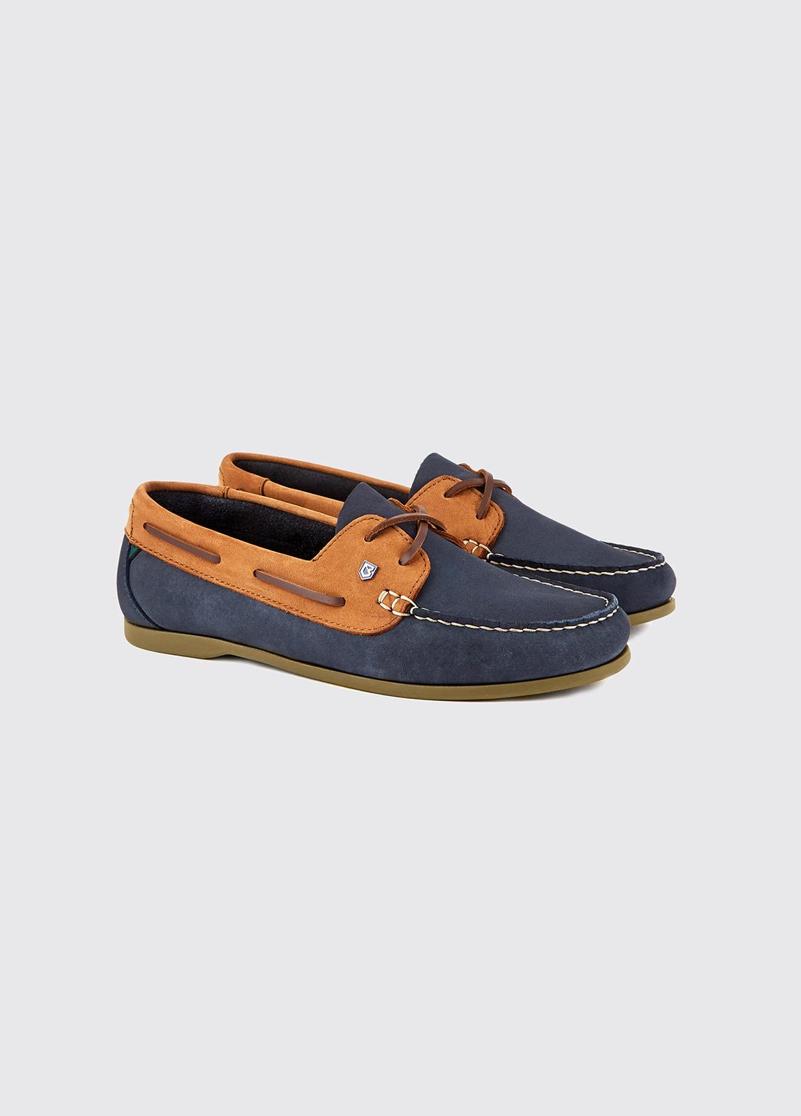 Aruba Deck Shoe - Denim/Tan