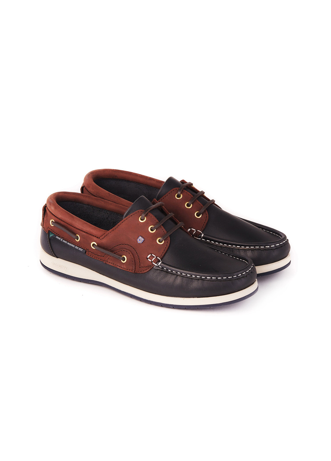 Commodore_XLT_Deck_Shoe_Navy/Brown_Image_1