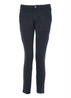 Roscarbery cropped trousers - Navy