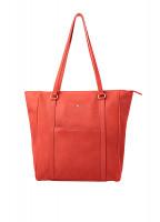 Arcadia Tote Bag - Coral