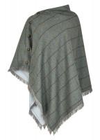 Hazelwood Tweed Poncho - Sorrel