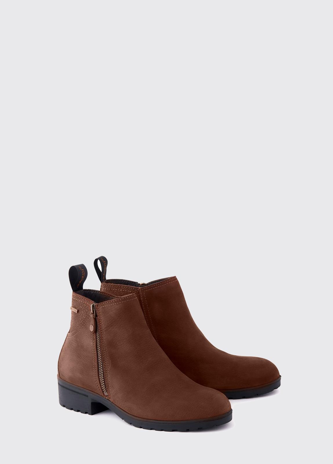 Carlow Leather Boot - Walnut