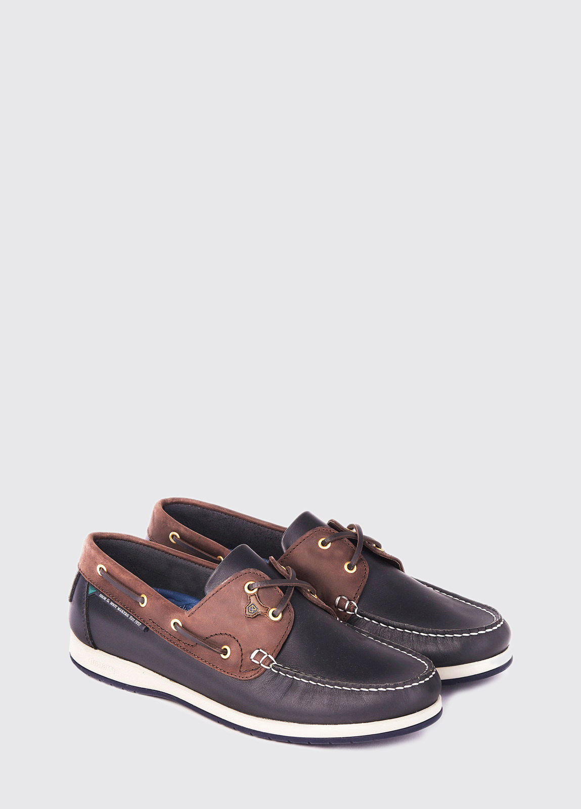 Sailmaker X LT Deck Shoe - Navy/Brown