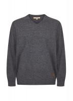 Brennan Men's Knitted Sweater - Graphite