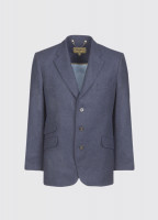 Gorse Regular Fit Tweed Jacket - Navy