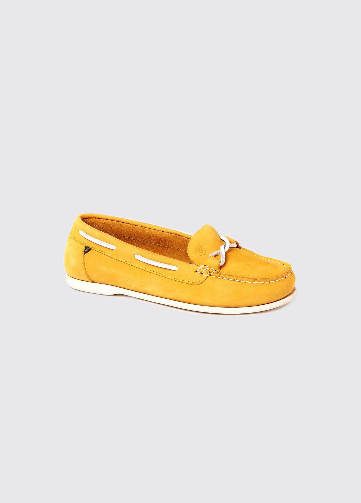 Rhodes Deck Shoe - Sunflower