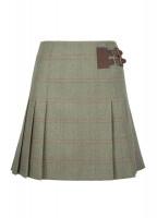 Foxglove Tweed Skirt - Acorn