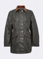 Baltray Waxed Jacket - Olive