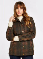 Annestown Wax Jacket - Hunter Brown