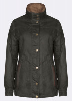 Mountrath Waxed Jacket - Olive