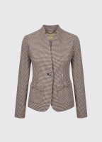 Jasmine Tailored Tweed Jacket - Cafe