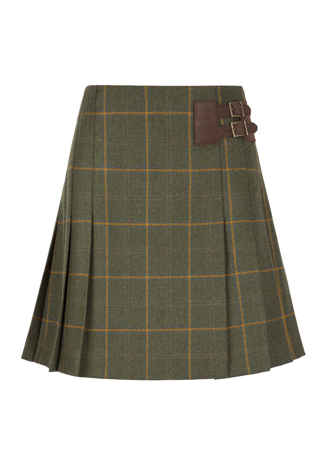 Dubarry_ Foxglove Tweed Skirt - Whiskey_Image_2