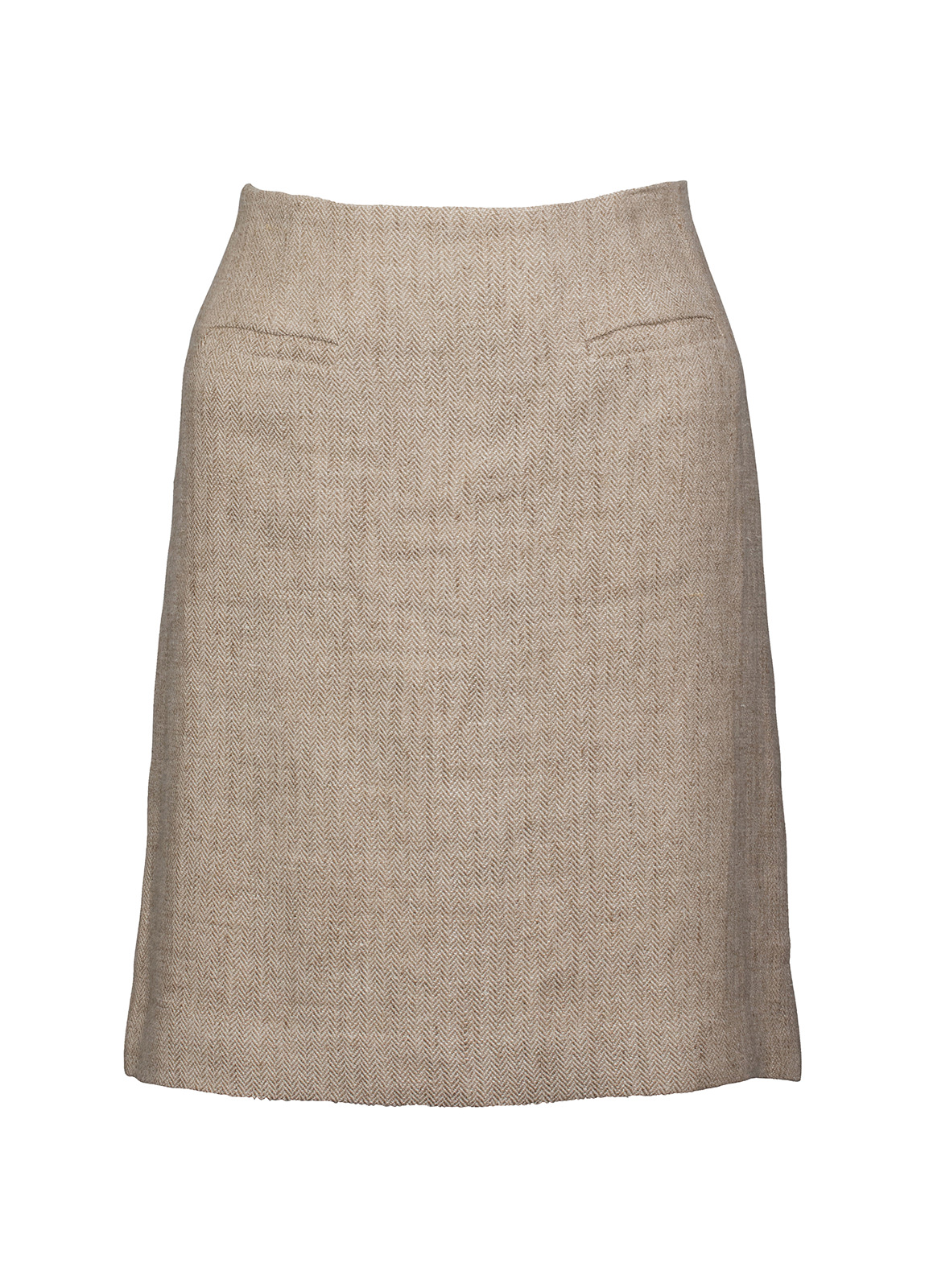 Dubarry_ Sunflower Linen Ladies Skirt - Oatmeal_Image_2