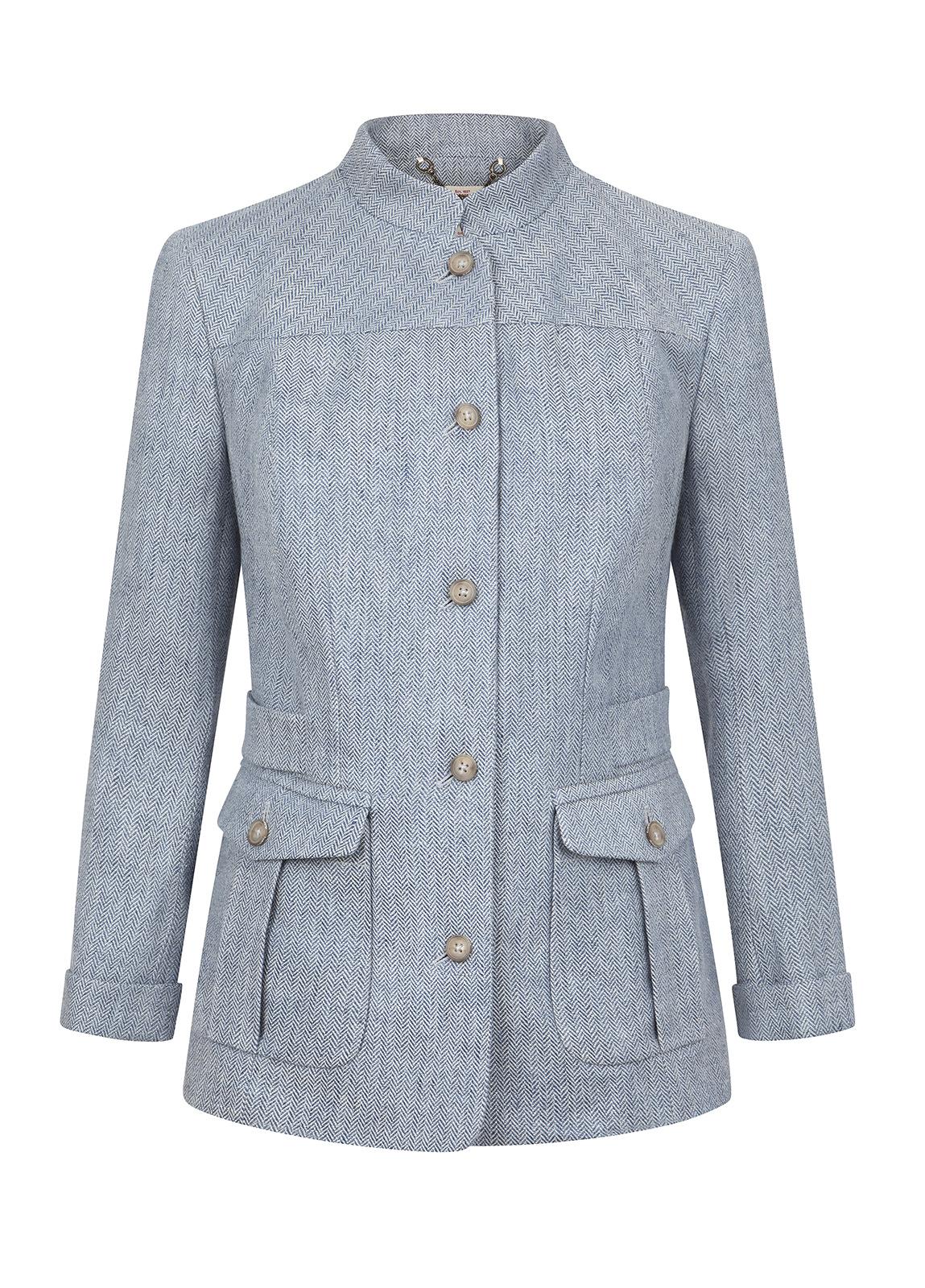 Dubarry_ Malahide Women's Linen Jacket - Blue_Image_2
